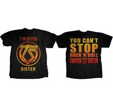 TWISTED SISTER - You Can't Stop Rock & Roll - T SHIRT S-M-L-XL New - Official