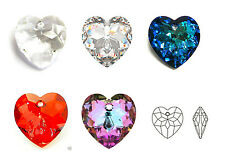 SWAROVSKI Crystal Elements 6215  HEART PENDANT 18mm Many Color