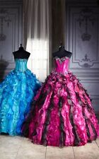 Multicolor Beading Quinceanera Dresses Ball Gowns Pageant Formal Prom Dress