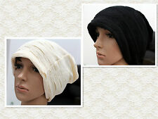 Unisex Trendy Chic Beanie Slouchy Hat WIth Decoration Pattern Free Shipping C