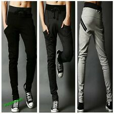 Fashion New Men's Casual Sports Dance Trousers Baggy Jogging Harem Pants 3Colors