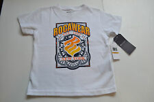 ROCAWEAR White TODDLER BOYS T-SHIRT SIZES 2T or 3T or 4T NWT