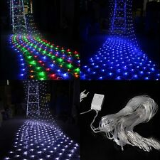 200 LED Indoor Outdoor Net String Light Lamp For Christmas Wedding Decoration