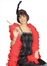 2m Feather Boas for Flappers & Baroque Fancy Dress Costume Accessory