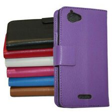 Flip Leather Case Pouch & Screen Film For Sony Xperia Experia L S36H C2104 n