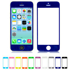 1/10 Colors Lens Front Touch Screen Panel Outer Glass For iPhone 5G 5S No Tool