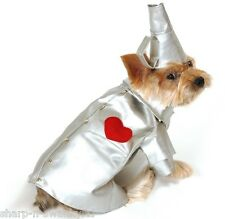 Pet Dog Cat Tinman Wizard of Oz Halloween Xmas Gift Fancy Dress Costume Outfit