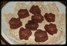 NELLIES ACRES WEE COFFEE CUP PALM  WAX  EMBEDS....1/2 & 1 lb ~COFFEE SCENTED