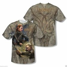 New The Hobbit Desolation of Smaug Elves Adult Sublimation Tee Shirt Sizes S-3XL