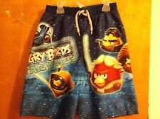 """BRAND NEW """".ANGRY BIRDS..STAR WARS  """" PAIR OF BOY'S  SWIMMING TRUNKS"""