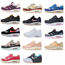 Nike Wmns Air Max 1 NSW Womens Running Shoes 90 Style 2014 Premium VNTG Pick 1
