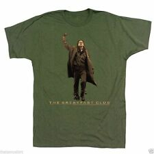 New Authentic Mens The Breakfast Club Vintage Guy Tee Shirt in Green Sizes S-2XL