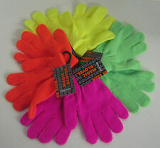Boys and Girls Magic Gloves Yellow Pink Green and Orange