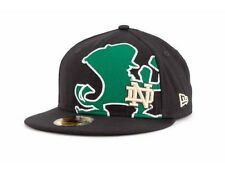 "New Era 59Fifty ""Notre Dame Fighting Irish NCAA Alias Fitted Cap"" Hat $34"