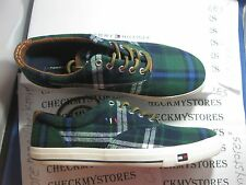 NIB NIB NEW Tommy Hilfiger Women's Plaid Tommy Hilfiger Lorient Casual Canvas Sh