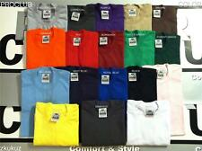 6 NEW PROCLUB HEAVY WEIGHT T-SHIRT COLOR PLAIN PRO CLUB TEE BLANK S-5XL 6PC