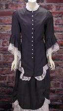 "FRONTIER CLASSICS Victorian ""NEW"" Black and White Ensemble Steampunk Dickens"