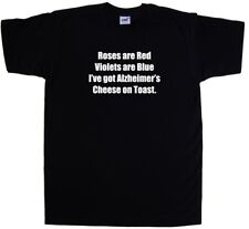 Alzheimers Cheese On Toast Funny T-Shirt