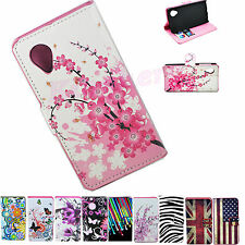 ID Wallet Flip Leather Cell Phone Case Cover For LG Google Nexus 5 LG E980 D820