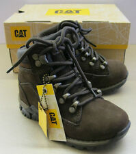 Caterpillar Infants Chamonix Mid Cut Brown Suede Laced Boots Sizes UK 7 - 12