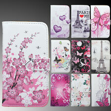 Butterfly Stand Wallet Flip Leather Case Cover For Samsung Galaxy SIV S4 i9500