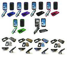VHS Hybrid Armor Kickstand Hard+Silicon Case For Samsung Galaxy S3 III 4G Phone