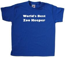 World's Best Zoo Keeper Kids T-Shirt