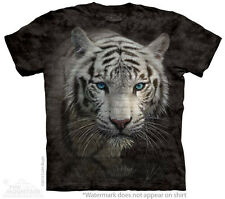 White Tiger Reflections The Mountain Adult & Child Size T-Shirts