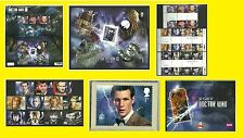 2013 Doctor Who Presentation Pack, Miniature Sheet, PHQ, Mint Set & Gutter Pairs