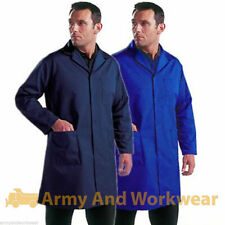 TUFF DURABLE WAREHOUSE STORE LAB WORKWEAR COAT COVERALL SHOP FACTORY MENS OVER