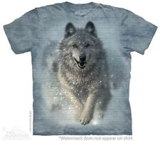 Snow Plow Wolf The Mountain Adult & Child Size T-Shirts