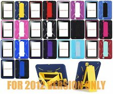 "For Amazon Kindle Fire HD 7 7"" 2012 Heavy Duty Hard Hybrid Kickstand Case Cover"