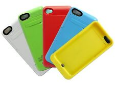 2200 mAh External Power Battery Backup Charger kickstand Case for iPhone 5 5s