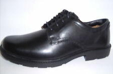 Clarks C&J mens lace up casual / work shoes Black Leather G fit LAIR WATCH