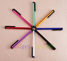 8x COLORFUL Capacitive Pen LCD Screen Touch Stylus for Cell Phones Phablet 2013