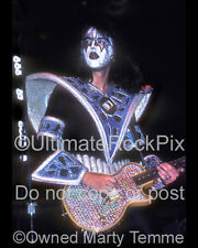 ACE FREHLEY PHOTO KISS 1970s Concert Photo by Marty Temme 1B