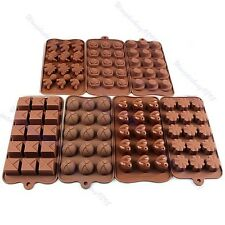 Xmas Chocolate Cake Cookie Muffin Jelly Baking Silicone Bakeware Mould Mold