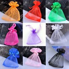 Wholesale New Bulk Lots Organza Voile Favor Candy Bag Pouch Jewelry Gift 7x9cm