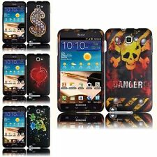 For Samsung Galaxy Note N7000 i717 i9220 Rubberized Design Phone Case Cover