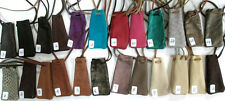 Small Leather Drawstring Medicine Bag Pouch Necklace New Made in USA