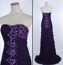 NEW SHIMMER BY BARI JAY 59609 Purple Prom Pageant Gown Available In Size 4, 10