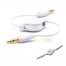 "CAR 3.5mm JACK AUXILIARY CABLE STEREO ADAPTER FOR PC Tablet TAB 9.7"" 10"" 10.1"""