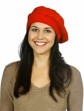 Winter Lady's Oversized Cable Knit Baggy Beanie Slouchy Skull Hat Cap