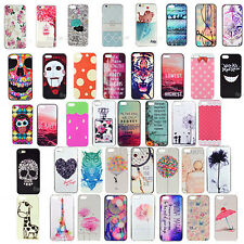 Paint Various Pattern Protection Hard Back Skin Case Cover For iPhone 4 4S 5G 5S