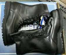 "MATTERHORN 1949 MEN'S 10"" LEATHER WATERPROOF INSULATED BOOT BLACK VAR SIZES NWT"