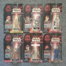 STAR WARS • EPISODE 1 - THE PHANTOM MENACE COMMTECH ACTION FIGURES • NEW IN PACK
