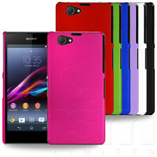 ULTRA SLIM PROTECTIVE HARD ARMOR COVER CASE SHELL FOR SONY XPERIA Z1 COMPACT