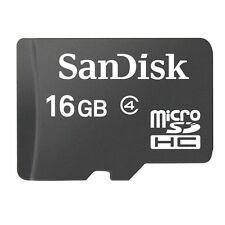 OEM SANDISK 16GB CLASS 4 MICROSD MICRO-SDHC MEMORY CARD for T-MOBILE CELL PHONES