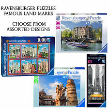 Ravensburger Famous places 170-1500 Piece Puzzles Choose From Assorted Designs