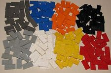 LEGO LOT OF 2 X 4 THIN PLATES BRICKS VARIOUS COLORS FOR SALE RED BLUE BLACK MORE